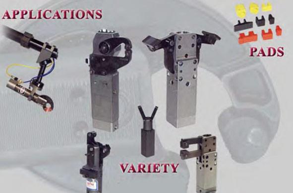 Sujetadores neumáticos BTM